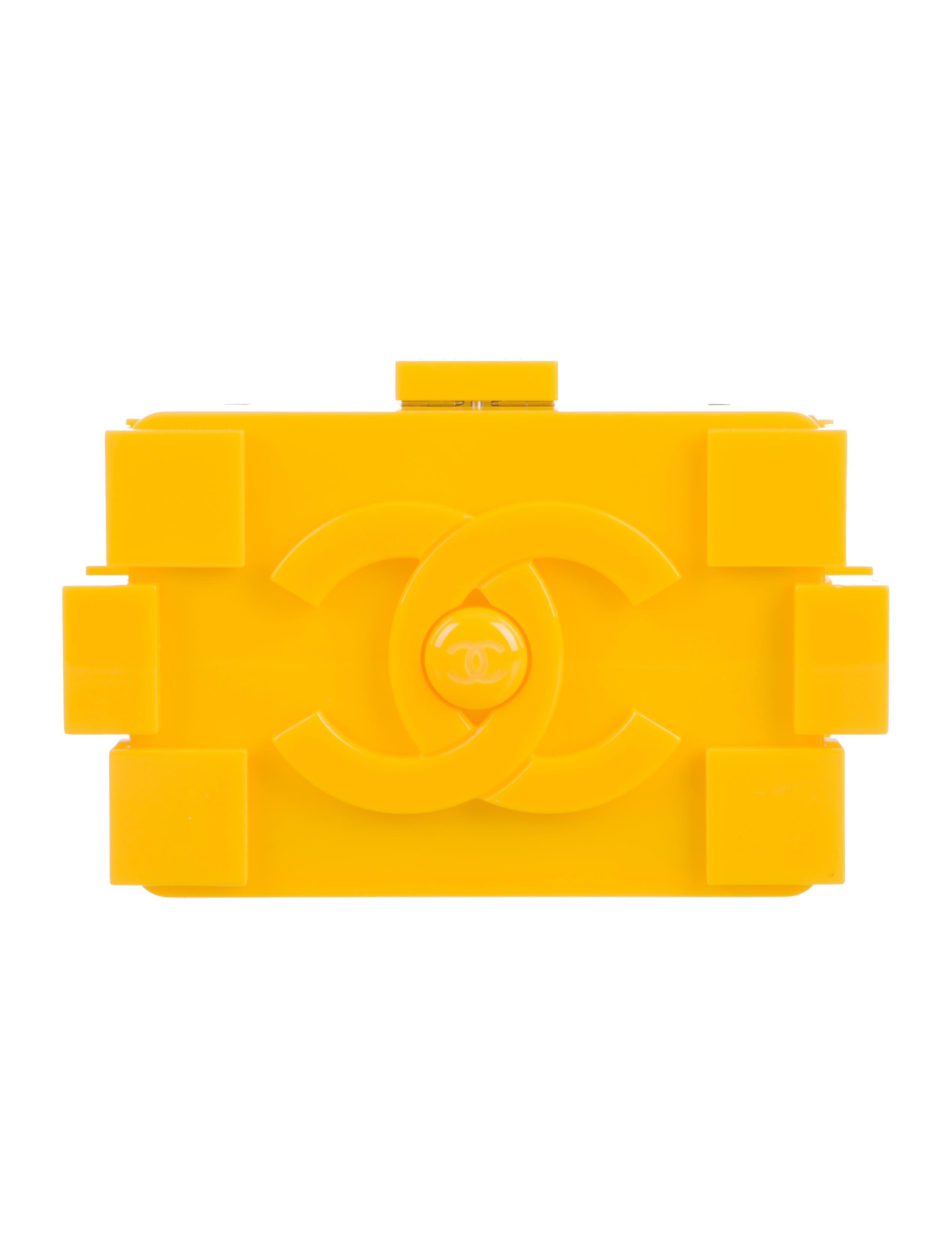 Chanel lego clutch price