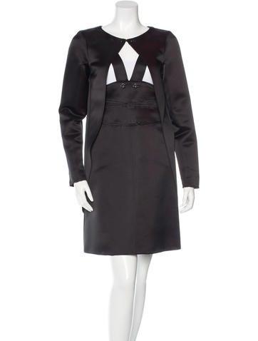 Chanel Silk Dress Set None