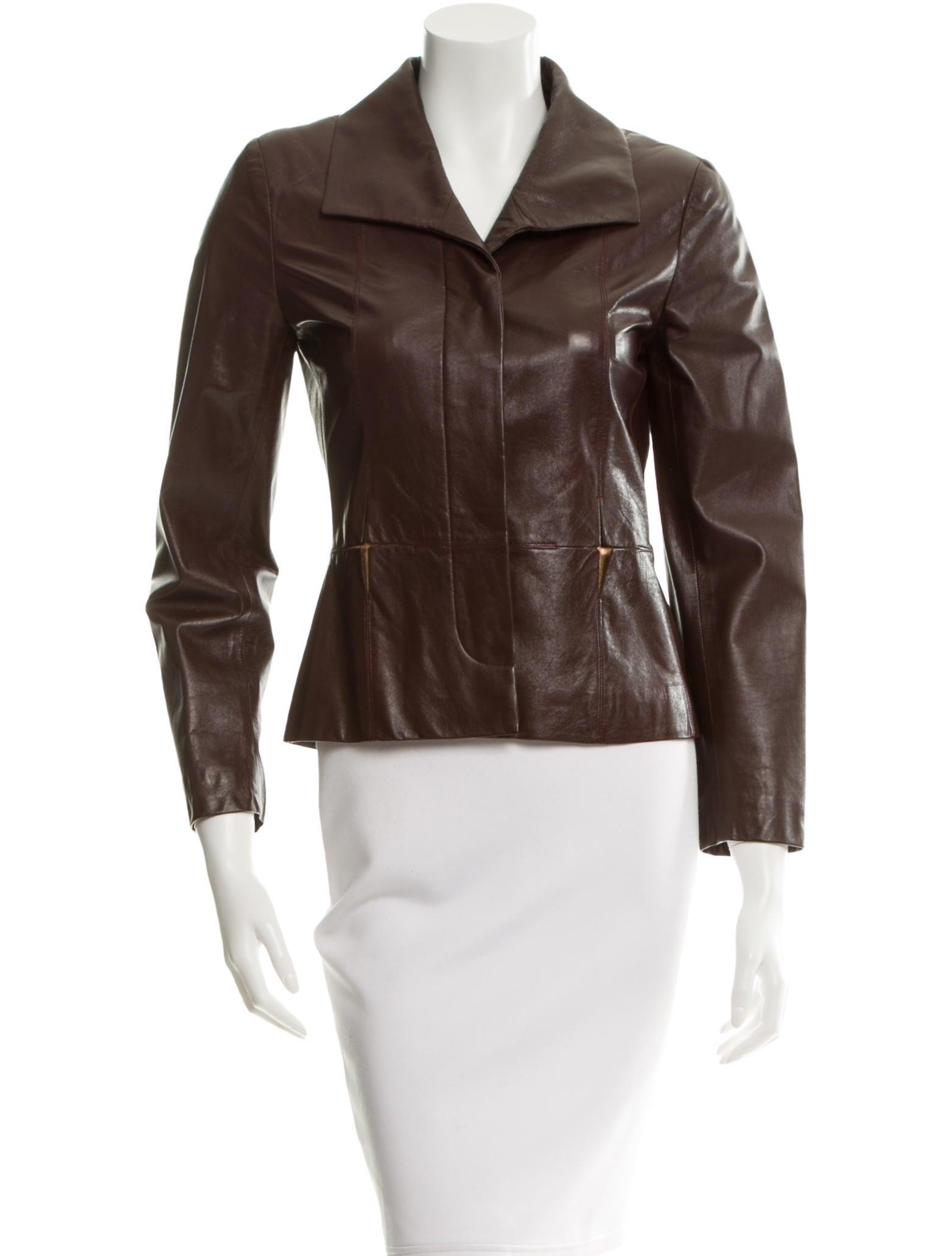 Chanel leather jacket