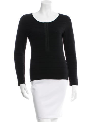 Chanel Wool Knit Top None