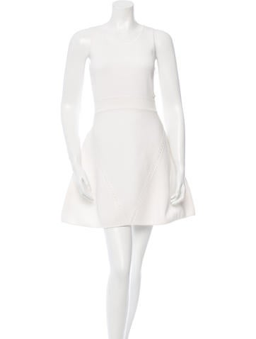 Chanel Knit A-Line Dress None