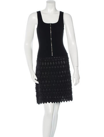 Chanel Knit Sleeveless Dress!