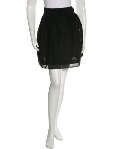 Chanel Flare Mini Skirt None