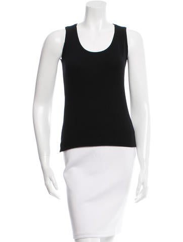 Chanel Cashmere Knit Top None
