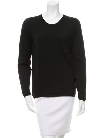 Chanel Wool Long Sleeve Top None