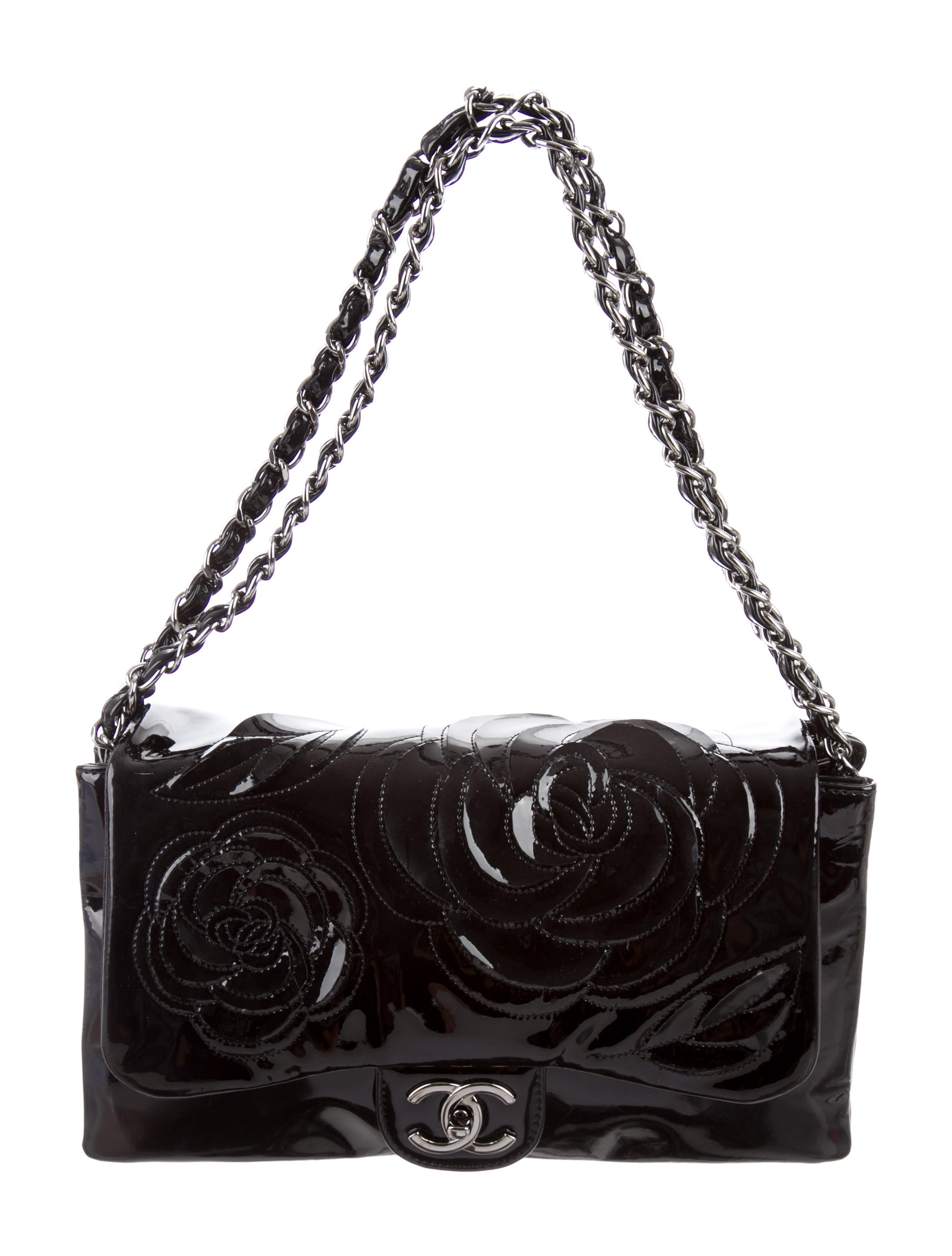 chanel petals camellia flap bag handbags cha135017