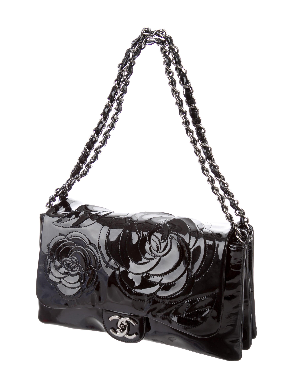 chanel petals camellia flap bag handbags cha135017