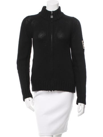 Chanel Wool Knit Sweater None