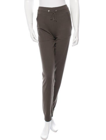 Chanel Cashmere Knit Pants w/ Tags None