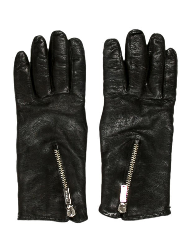 Chanel Leather Zip Gloves - Accessories - CHA136315 | The ...