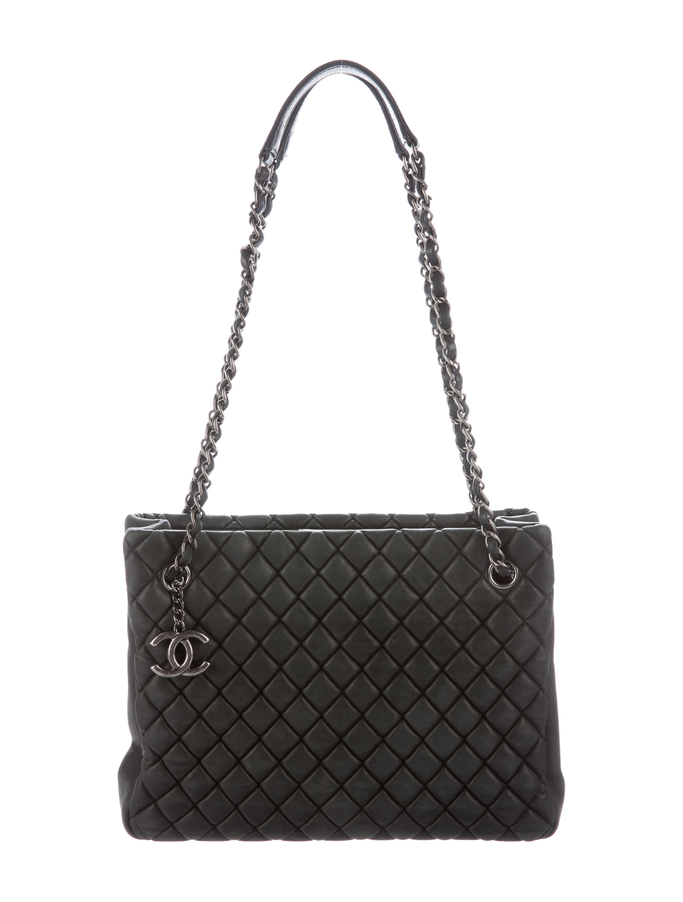 cd851f285cd Chanel New Bubble Quilted Shopping Tote - Handbags - CHA136328 | The ...