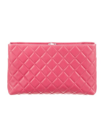 Paris-Bombay Square Timeless Clutch