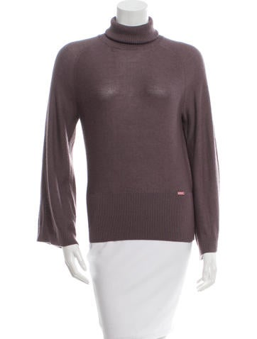 Chanel Cashmere Turtleneck Top