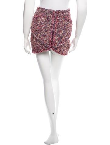 2015 Bouclé Mini Skirt w/ Tags