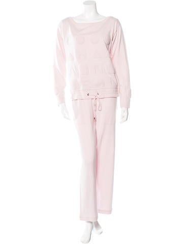 Chanel Cashmere Loungewear Set None