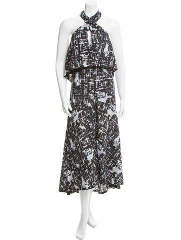 Chanel Draped Midi Dress