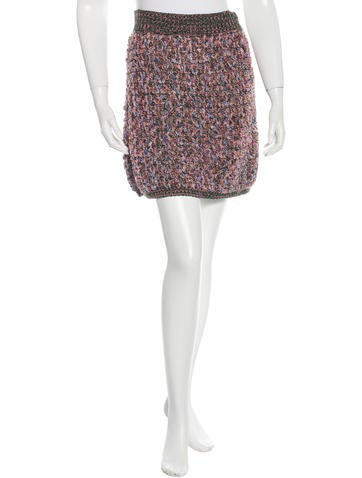 Chanel Spring 2015 Knit Skirt None