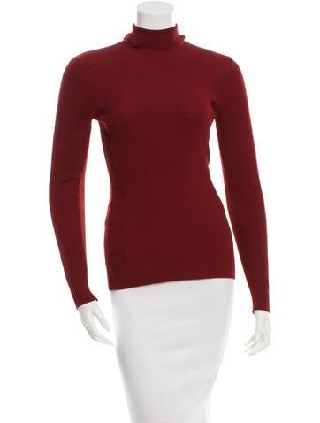 Chanel Wool Turtleneck Sweatshirt None