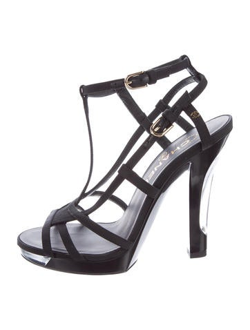 Chanel 2015 City Lights Sandals