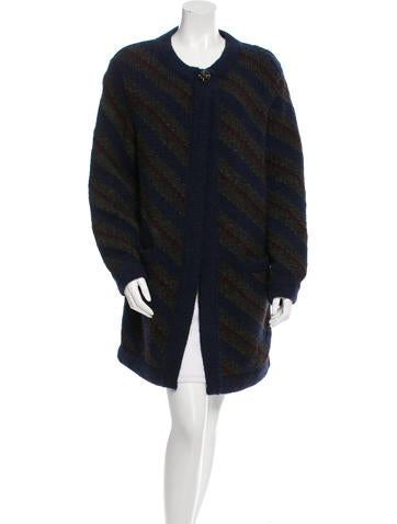 Chanel Wool Blend Cardigan None