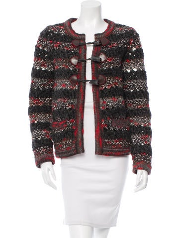 Chanel Wool & Cashmere-Blend Cardigan None