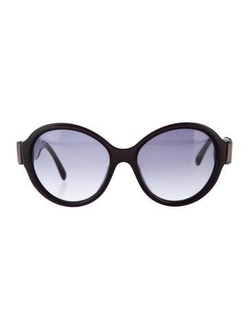 chanel round bow sunglasses accessories cha137826