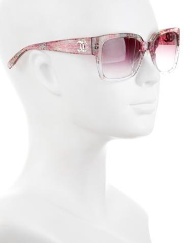 CC Tweed Printed Sunglasses