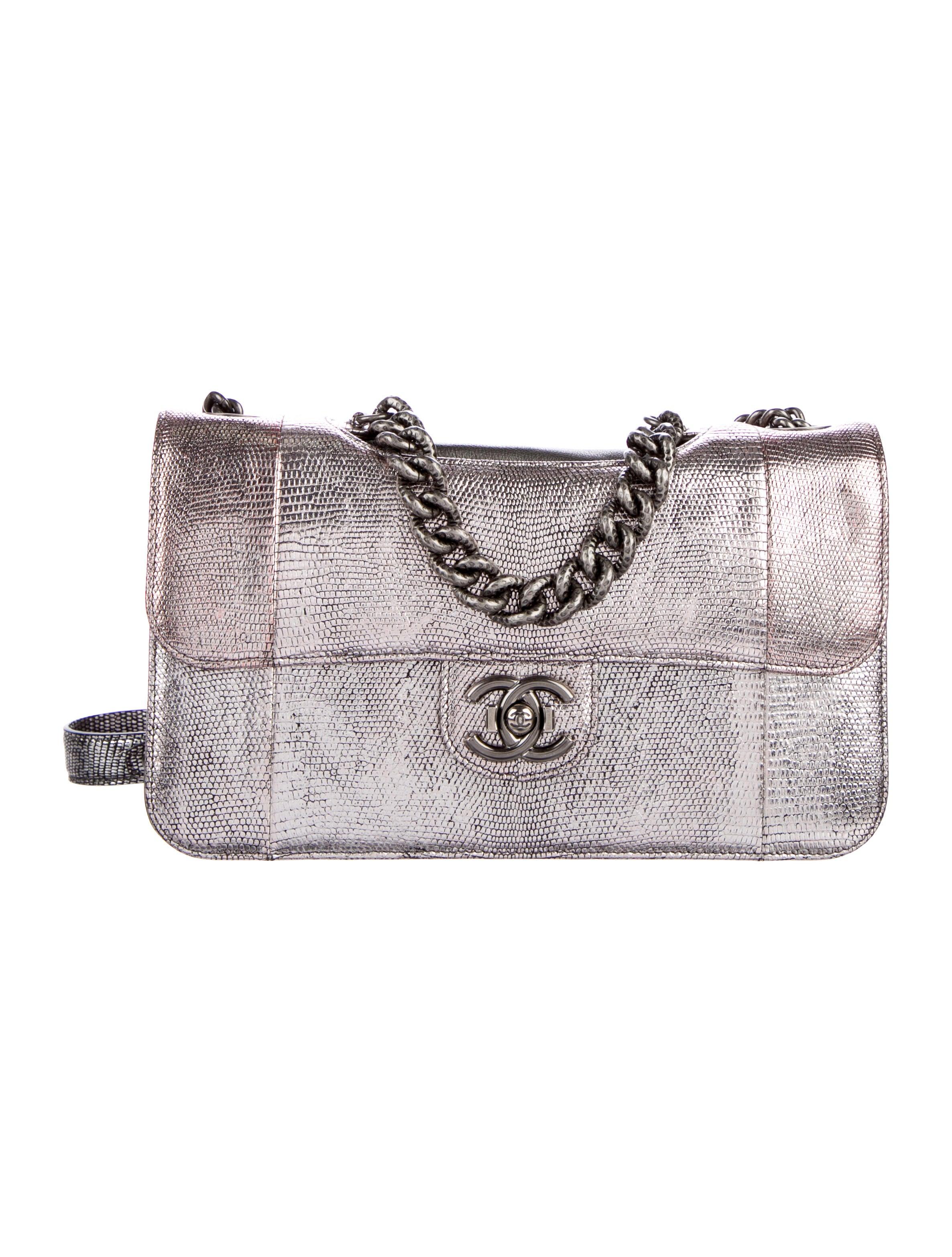 ef7a76dec7c2 Chanel Lizard Perfect Edge Flap Bag - Handbags - CHA137950