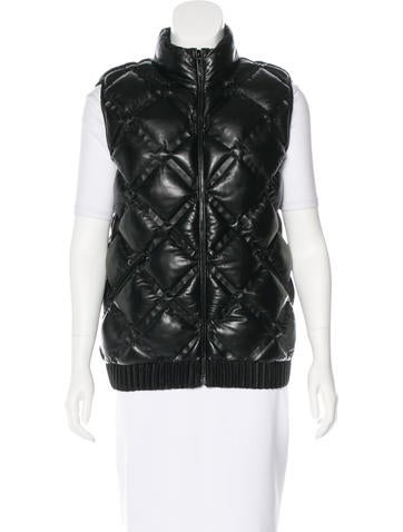 Chanel 2016 Quilted Lambskin Vest w/ Tags
