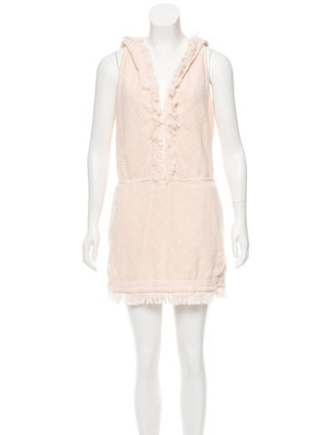 Chanel Quilted Terrycloth Dress