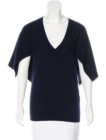 Chanel Cashmere Layered Sweater None