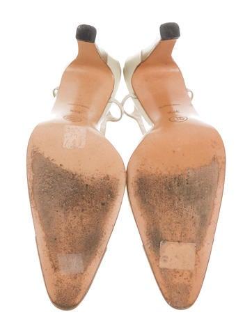 Cap-Toe Slingback Pumps