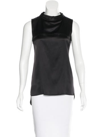 Chanel Spring 2015 Silk Sleeveless Top w/ Tags None