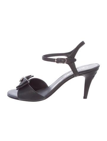 Chanel Embellished Sandals
