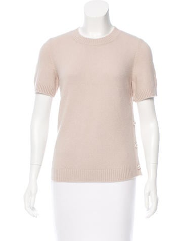 Chanel Cashmere & Wool-Blend Sweater w/ Tags None