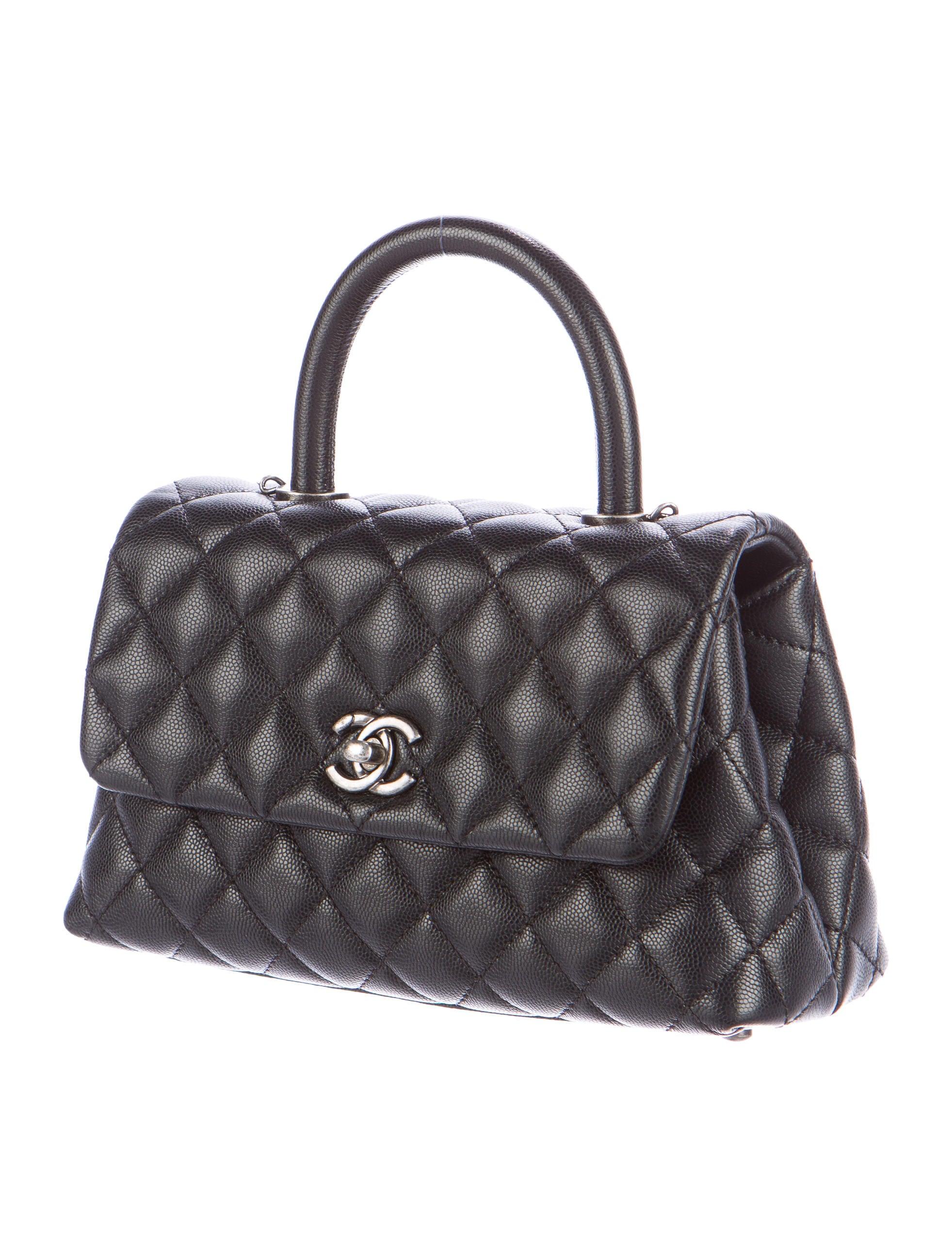 Chanel 2016 Mini Coco Handle Bag Handbags CHA138846  : CHA1388463enlarged from www.therealreal.com size 1963 x 2590 jpeg 461kB