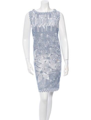 Chanel Knit Sleeveless Dress None