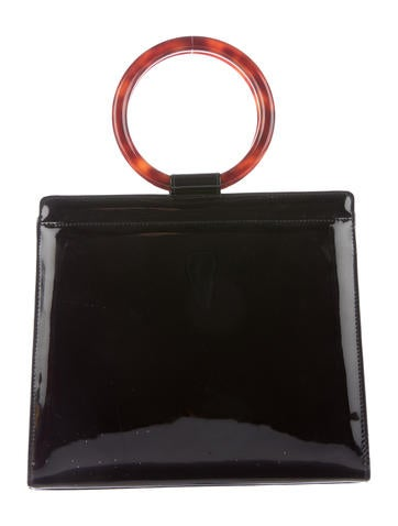 Patent Leather Handle Bag