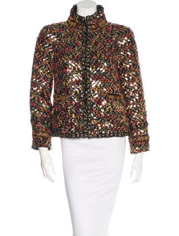 Chanel Paris-Byzance Embellished Jacket