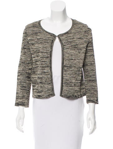 Chanel Printed Knit Cardigan None