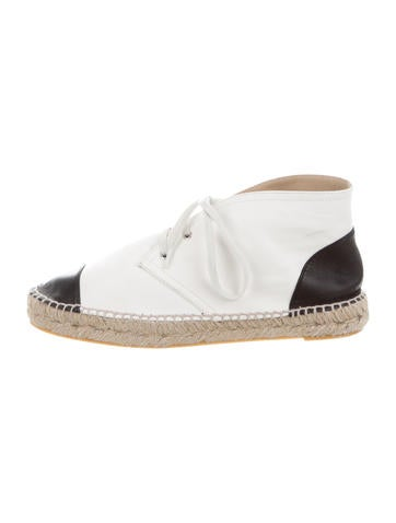 High-Top Espadrille Sneakers