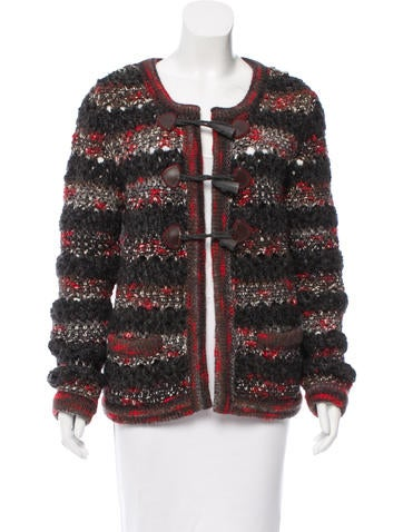 Chanel Wool & Cashmere-Blend Cardigan