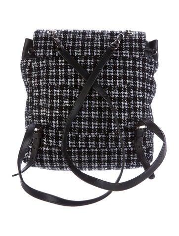 Spring 2016 Tweed Backpack