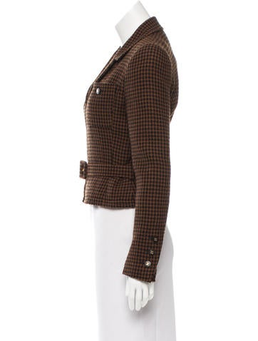 Belted Wool Jacket