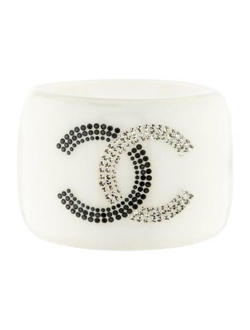 Chanel Crystal CC Bracelet