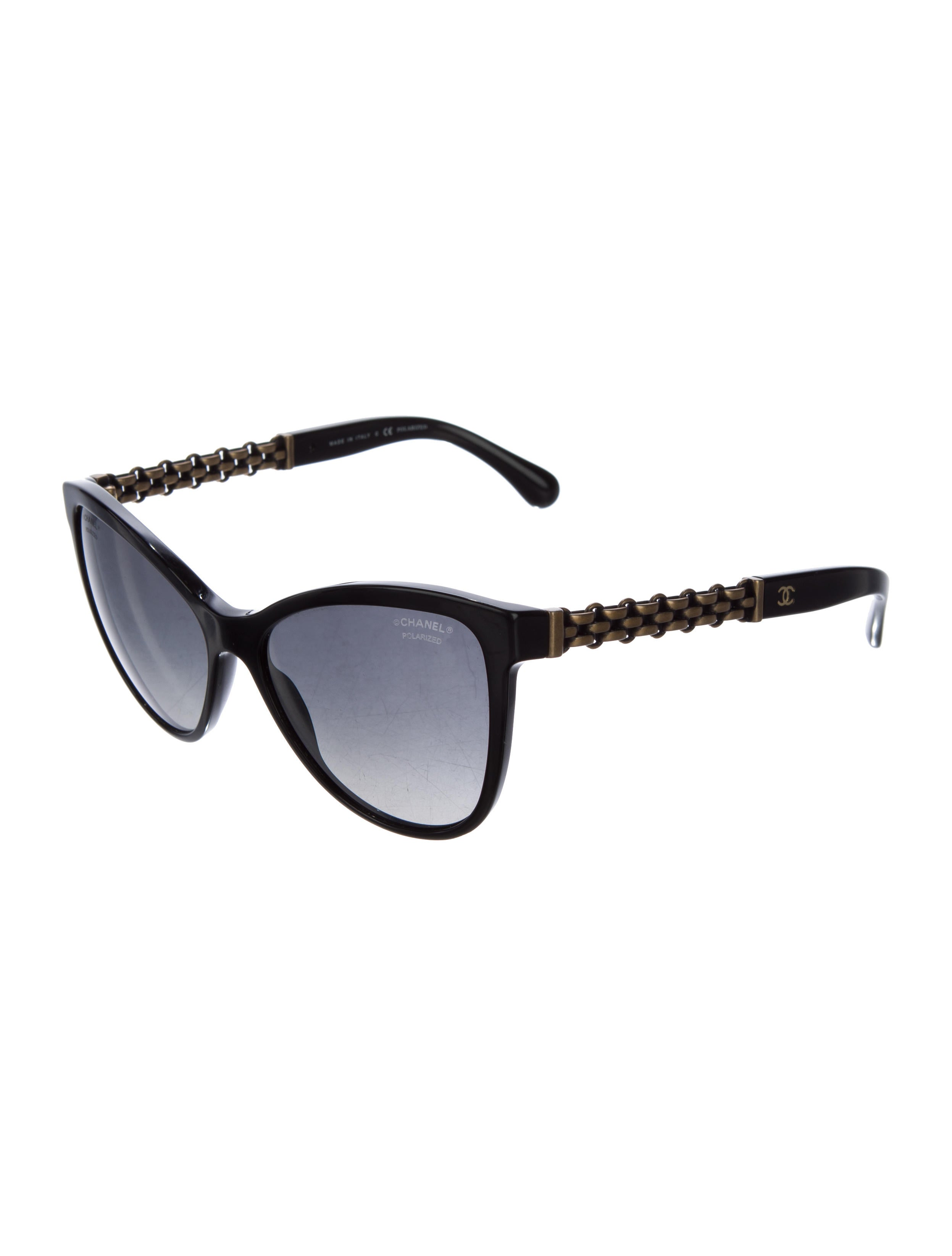 Chanel Bijou Chain Sunglasses Accessories CHA140459  : CHA1404592enlarged from www.therealreal.com size 2494 x 3290 jpeg 133kB