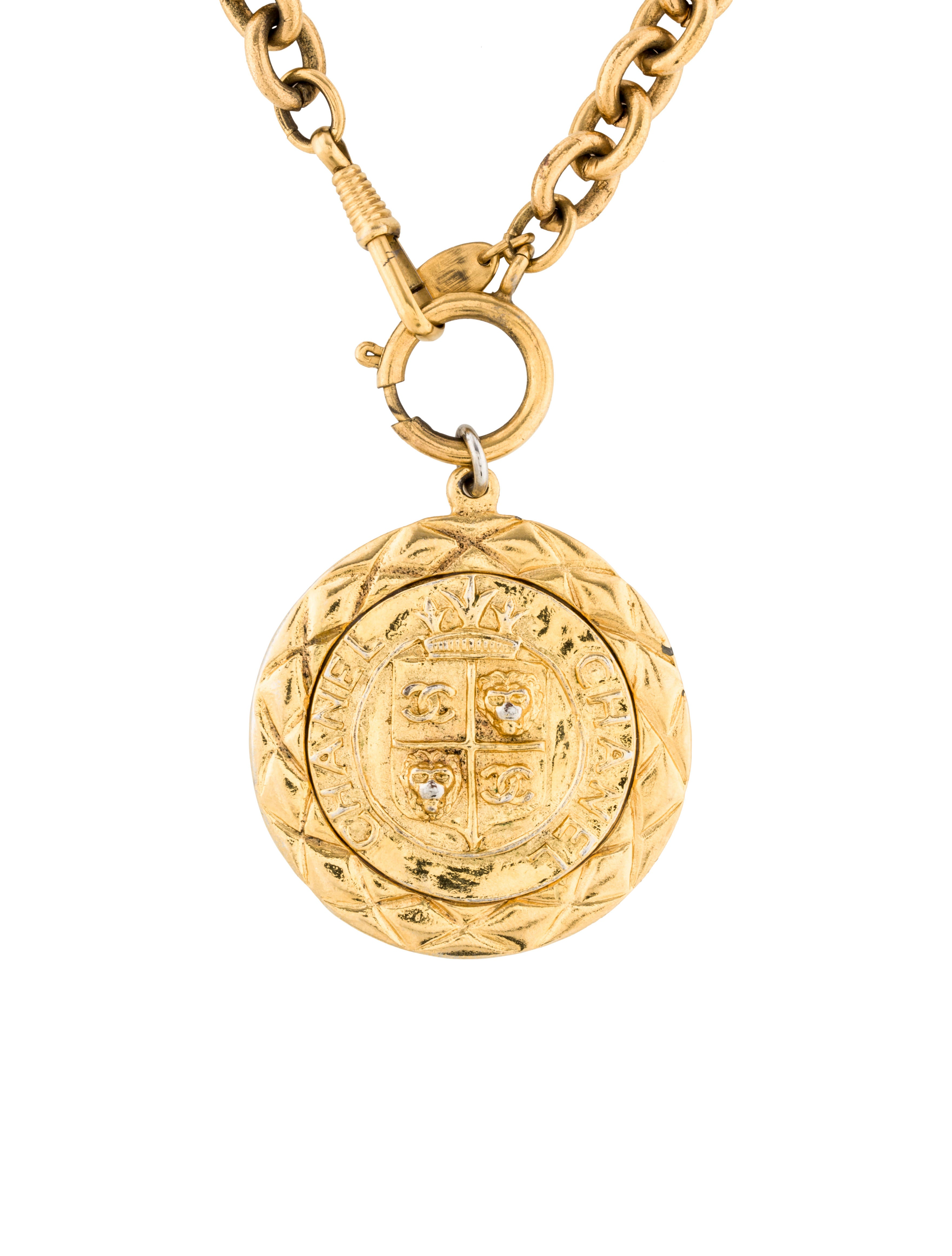 chain necklace us claire medallion pendant s metal tassel mixed