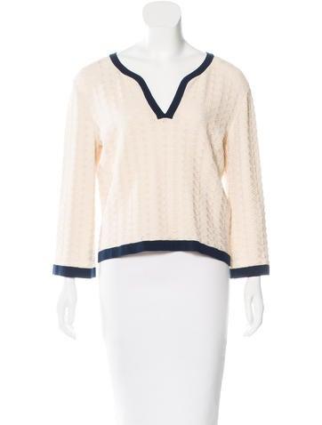 Chanel Knit Jacquard Sweater None