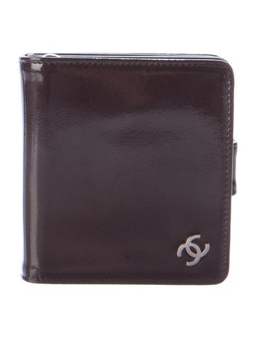 Chanel Patent Compact Wallet