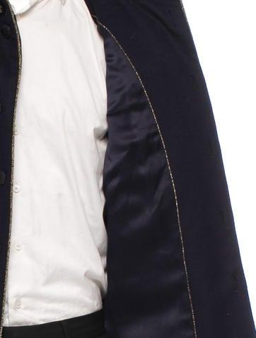 Wool Military Coat
